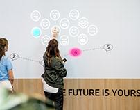 4GameChangers Festival, Interactive Wall