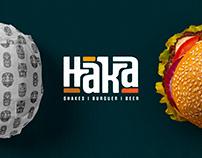 Branding   Haka Burger