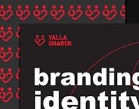 Vodafone / Yalla Sharek Branding & Identity