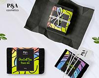"""Label design """"ChaCo&Tea tree oil"""""""