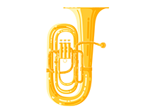 Ilustrações - Instrumentos Musicais