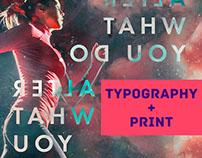Typography + Print