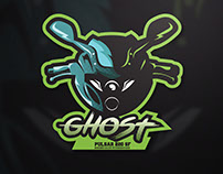 GHOST | CUSTOMIZED BIKE STICKER DESIGN | PULSAR 220 SF