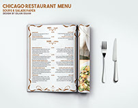 Chicago E.G.T Menu