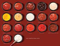 Rio Santo Sauce Palette Campaign