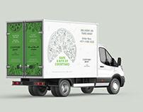 Delivery Van - Courtyard