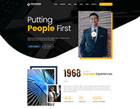 Consultante - Consulting & Finance PSD Template