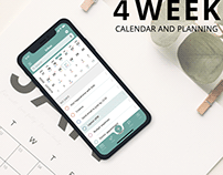 4 WEEK Mobile App for iOs