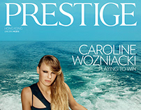 cover for PRESTIGE Magazine