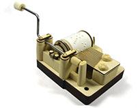 Kikkerland Crank Music Box