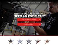 Five Star Auto Body - Web Design and Development