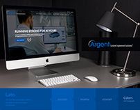 Argent International Web Site