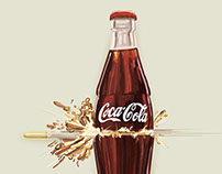 Coca cola Visual board