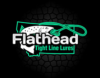 Flat head Logo Design