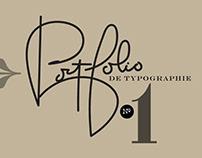 Typography Portfolio