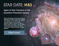 Web App: Star Date: M83