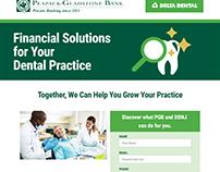 Landing Page Web Development for PGB & Delta Dental