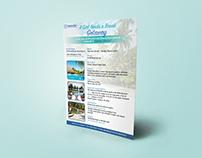 Girl's Getaway Vacation Flyer Design