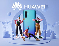 Huawei - Stickers P30 Pro
