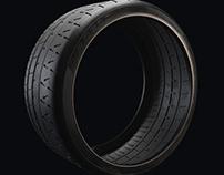 P Zero Trofeo R Tyre - 3D Model