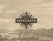Navegante - Design de Rótulo de Cerveja