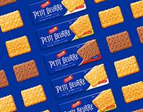 Petit Beurre: Packaging design