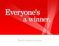 Bank of America – Everyone's a Winner Touchscreen