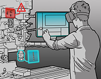 VR Use Case Storyboards for Enterprise Scenarios