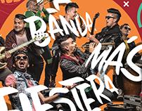 """Branding """"La Banda Más Fiestera"""""""