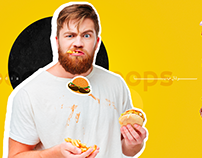 Burger-Social Media ideas