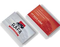 Logo + Cartão de Visita - Rafa Estética Automotiva