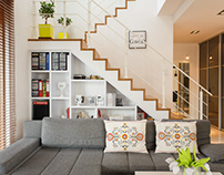 """Scandinavian way of living"" - House in Lublin"
