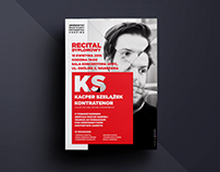Recital: poster and materials