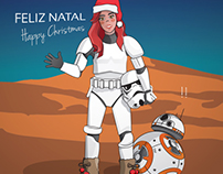 Star Wars Digital Christmas Card 2015