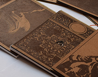 Hand Crafted Wooden Diaries