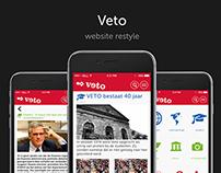 Web Design - Veto (restyle)