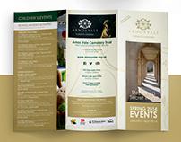 Arnos Vale Spring 2014 Events Tri-Fold Brochure