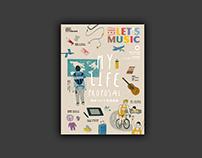 KKBOX音樂誌 #6-11|封面、專題設計