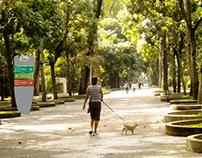 Señalética Parque Los Caobos