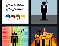 "How to listen ""The Beatles"" -Comic-"