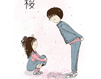 Sakura couple