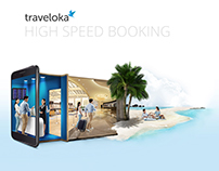 Traveloka - High Speed Booking | Print Ads