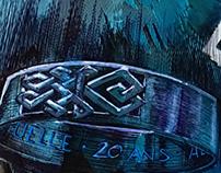 Projet de Bague d'inspiration celtique. Celtic rings