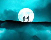 Couple Walk (Artwork)