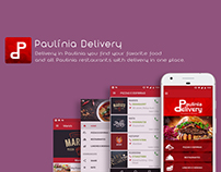 Resturant App Design and Development- Paulínia Delivery