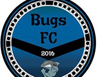 Identidade visual e Camisa do Bugs FC (time de praia)