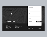 Daily UI Day #28: Contact Us