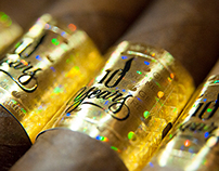 Procigar Festival 10th Anniversary cigar band