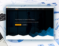 Marketing Company - Landing Page