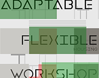 Banner Design for Adaptable Flexible Housing Workshop